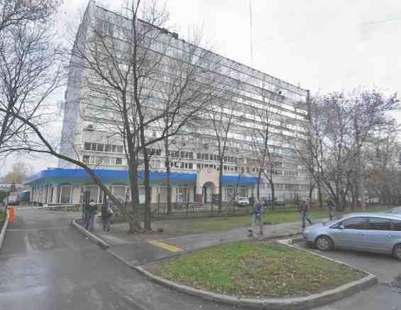 Москва. Район Ростокино. Улица Докукина 4
