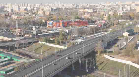Улица Комдива Орлова Ленинградское и Савеловское направление МЖД