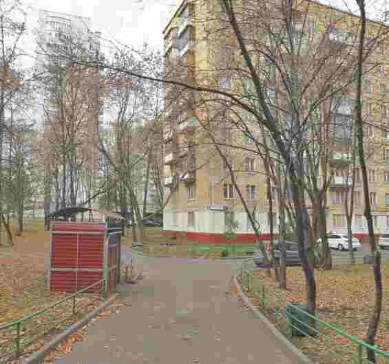 Москва. Улица Константинова 1 Жилые дома