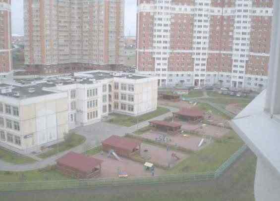 Район Лианозово. Жилые дома и детский садик