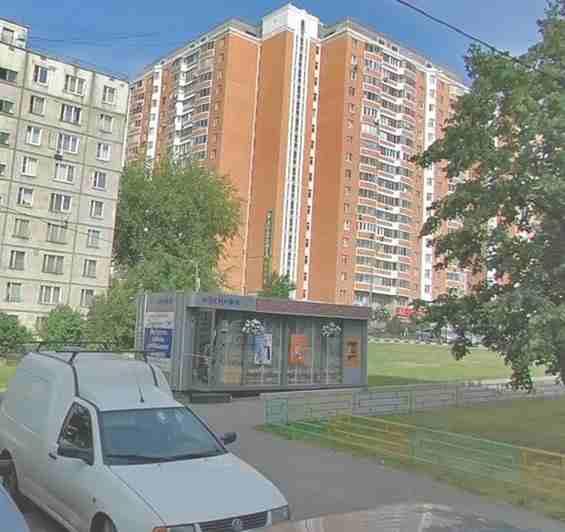 Москва.Улица Грекова