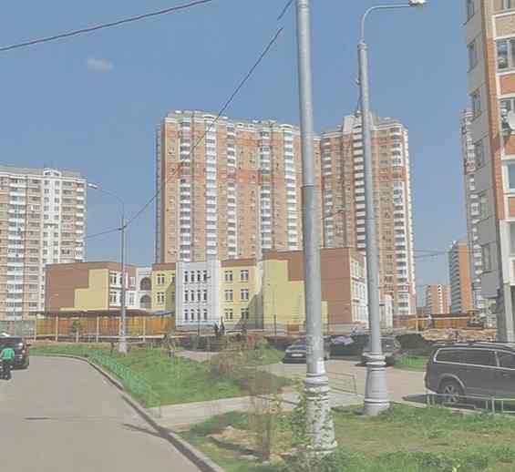 Москва. Улица Радужная