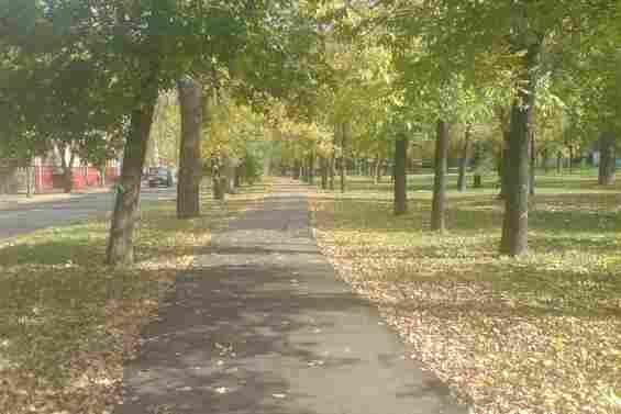 Улица Верхоянская. Парк для отдыха