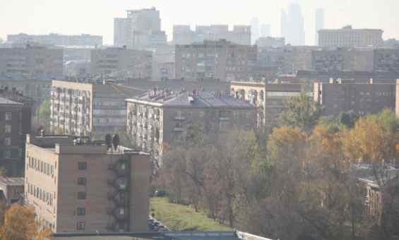 Панорама Алексеевского района Москвы