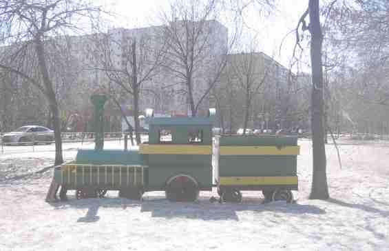 Район Отрадное Памятник Бескудниковской железной дороге