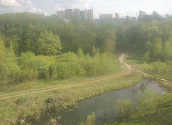 Живописный московский район Бибирево