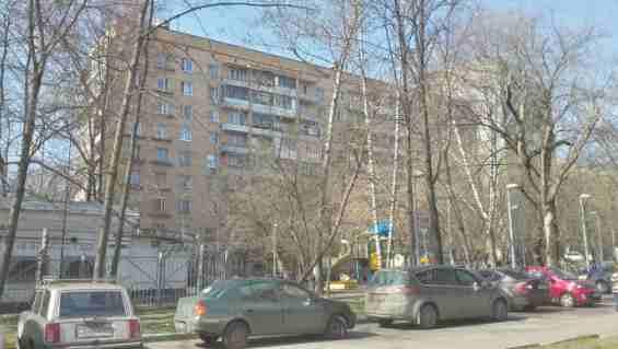 Район Ростокино. Малахитовая улица 8 к 3