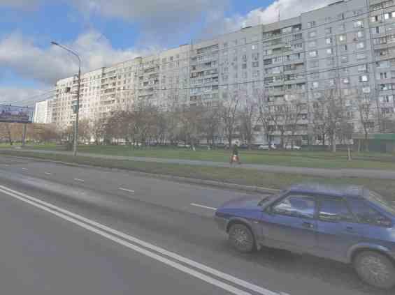 Москва. Бибиревская улица д. 1