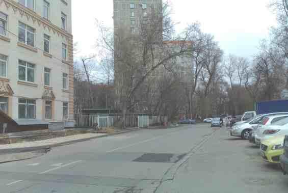 Район Ростокино. Будайская улица