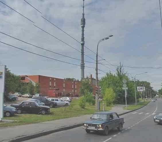 Останкинский район. Новомосковская улица 1 к 3