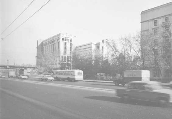 Бутырский район. Бутырская улица 1960 -- 1970 годы