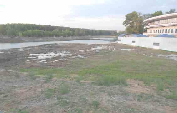 Углубление и очистка Джамгаровского пруда